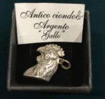 """Antique Italian """"Il Gallo"""" Pendant"""